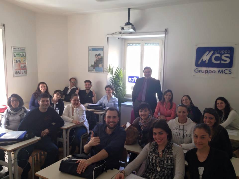Corso Tecnico Contabile - Paghe e contributi  - classe a fine corso - docente dr. Marco Turella  - GRUPPO MCS - 2016
