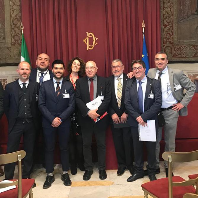 Camera dei deputati  - dr. Mario Criscuolo CEO - GruppoMCS - AIFOS