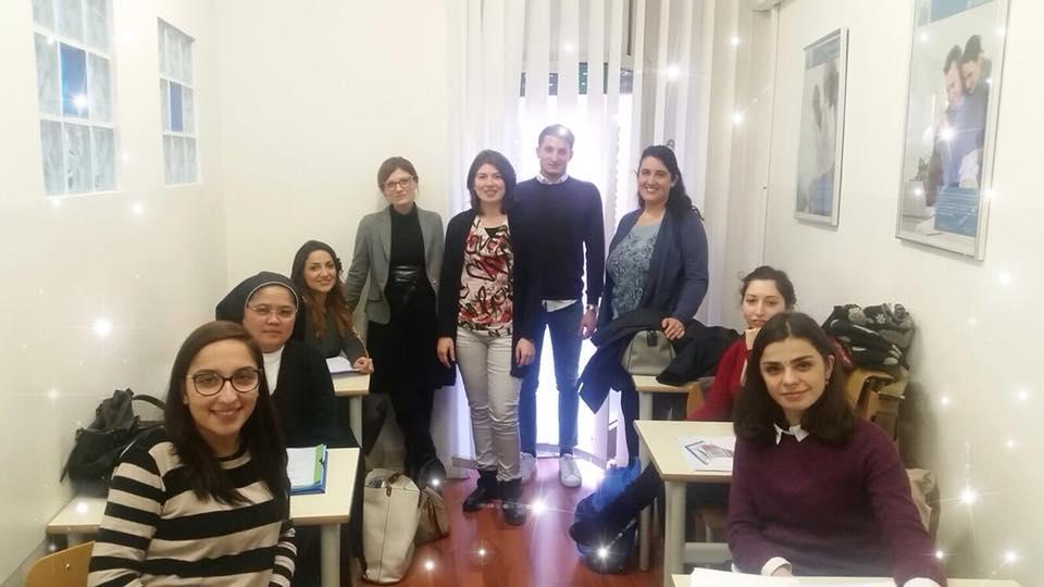Corso Tecnico Contabile - Contabilità - classe a fine corso - docente dr.ssa Sparano - GRUPPO MCS